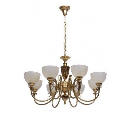 Подвесная люстра Паула 8 411013808Люстры подвесные<br>способ крепления светильника на потолке - на крюке,<br>