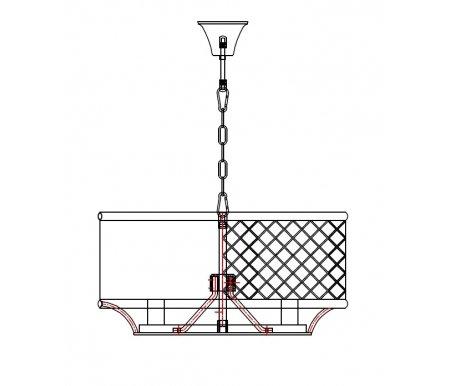 Подвесная люстра Mak-interior