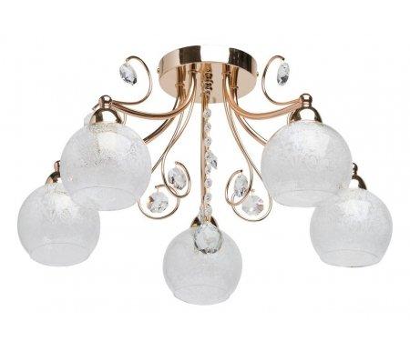 Потолочная люстра Грация 8 358016905Люстры потолочные<br>способ крепления светильника на потолке - на монтажной пластине<br>