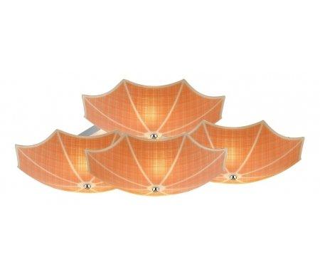 Потолочная люстра Ombrelloni SL524.092.09Свет<br>способ крепления светильника к потолку – на монтажной пластине<br>