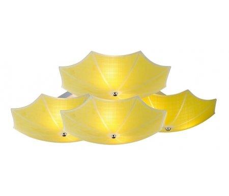 Потолочная люстра Ombrelloni SL524.992.09Свет<br>способ крепления светильника к потолку – на монтажной пластине<br>