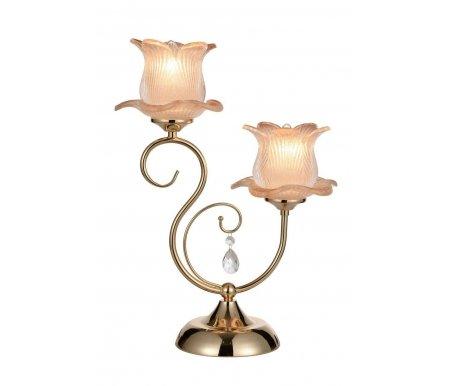 Настольная лампа ST Luce Lussuoso SL668.204.02Хрустальные настольные лампы<br><br>