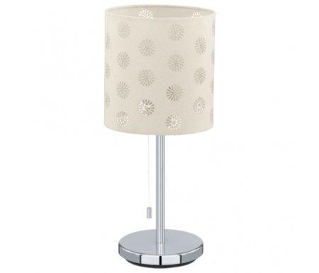 Настольная лампа Eglo Chicco 1 91396Настольные лампы с абажуром<br><br>