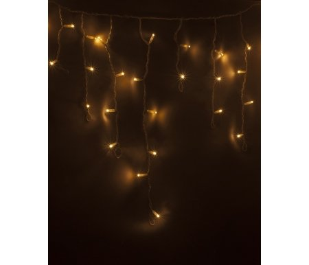 Бахрома световая (0.6x4.8 м) LED-IL 255-138-6Новогодний свет<br>длина нитей 20, 30, 40 и 60 см,<br>