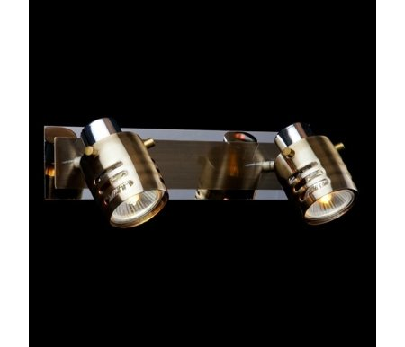 Спот 23463/2 хром/античная бронзаСпоты<br>поворотный светильник<br>