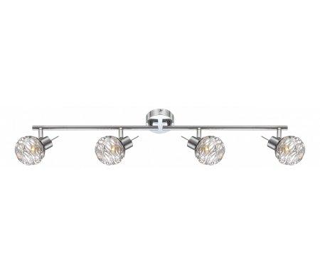 Спот Bolt 56625-4Споты<br>способ крепления светильника к стене и потолку - на монтажной пластине,<br>