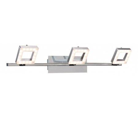 Спот Квадро CL554531Споты<br>способ крепления светильника на стене и потолоке– на монтажной пластине,<br>