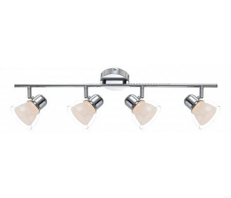 Спот Nashville 56182-4Споты<br>способ крепления светильника к стене и потолку - на монтажной пластине,<br>