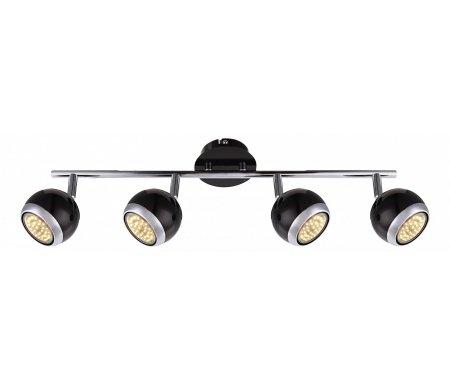 Спот Oman 57884-4Споты<br>способ крепления светильника к стене и потолку - на монтажной пластине,<br>