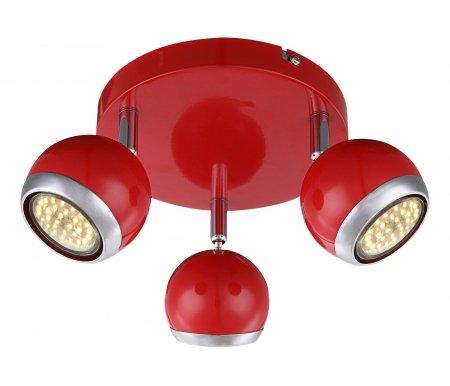 Спот Oman 57885-3Споты<br>способ крепления светильника к стене и потолку - на монтажной пластине,<br>