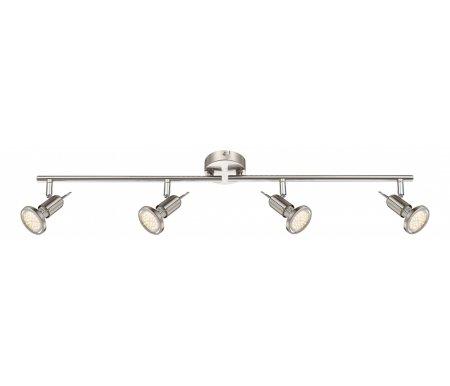 Спот Rail 54382-4Споты<br>способ крепления светильника к стене и потолку - на монтажной пластине,<br>