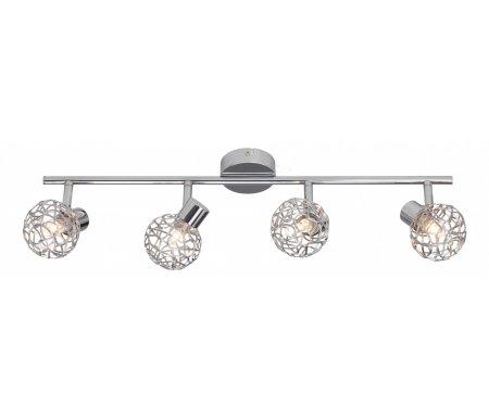 Спот Virgo G02231/15Споты<br>способ крепления светильника к потолку и стене – на монтажной пластине,<br>
