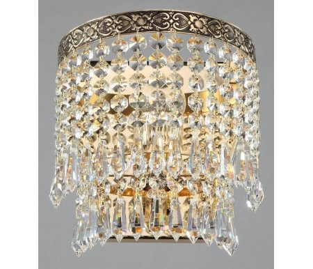 Настенный светильник Maytoni Fabric D783-WB1-GНастенные светильники<br><br>