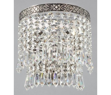Настенный светильник Maytoni Fabric D783-WB1-NНастенные светильники<br><br>