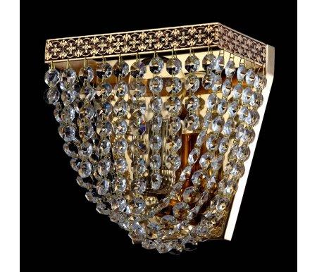Настенный светильник Maytoni Quadrato M583-WB1-GНастенные светильники<br><br>