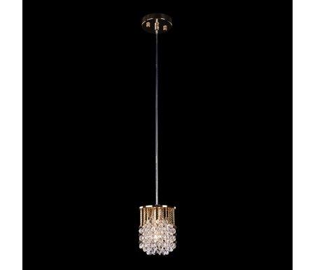 Подвесной светильник 3121/1 золото/прозрачный хрусталь StrotskisПодвесные светильники<br><br>