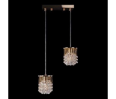 Подвесной светильник 3121/2 золото/прозрачный хрусталь StrotskisПодвесные светильники<br><br>