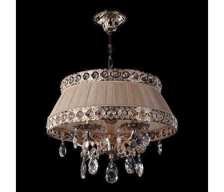 Подвесной светильник 3311/5 золото/прозрачный хрусталь StrotskisЛюстры подвесные<br><br>