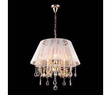 Подвесной светильник 3419/5 золото/белый StrotskisЛюстры подвесные<br><br>