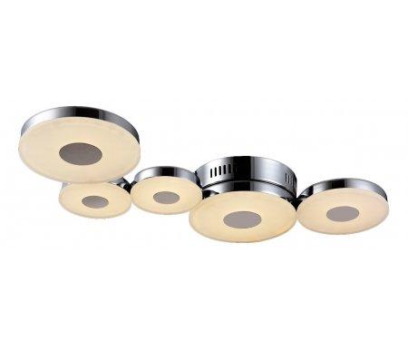 Накладной светильник Coral MOD388-05-NПотолочные светильники<br>способ крепления светильника к потолку – на монтажной пластине<br>