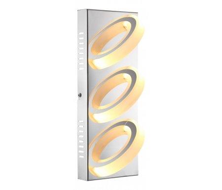 Накладной светильник Mangue 67062-3Светодиодные светильники<br>способ крепления светильника к потолку и стене - на монтажной пластине<br>