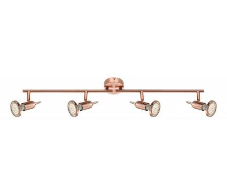 Спот Anne 54383-4Светодиодные светильники<br>способ крепления светильника к стене и потолку - на монтажной пластине,<br>