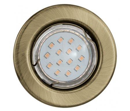 Встраиваемый светильник Eglo Igoa 93231Встраиваемые точечные светильники<br><br>