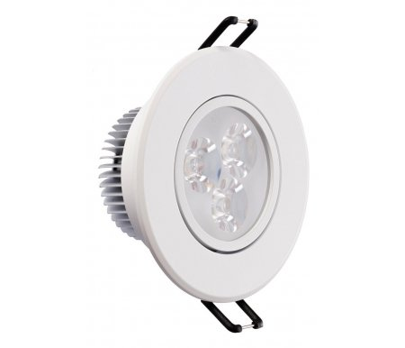 Встраиваемый светильник Круз 637011903Встраиваемые точечные светильники<br>поворотный светильник<br>