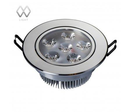 Встраиваемый светильник MW-Light Круз 637013606Встраиваемые точечные светильники<br><br>