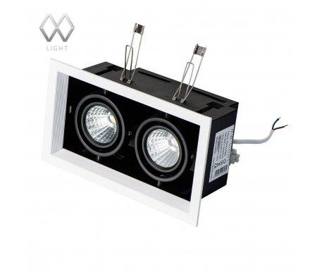 Встраиваемый светильник MW-Light Круз 637014002Встраиваемые точечные светильники<br><br>