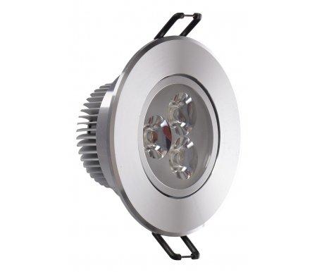 Встраиваемый светильник Круз 637012703Точечные светильники<br>поворотный светильник<br>
