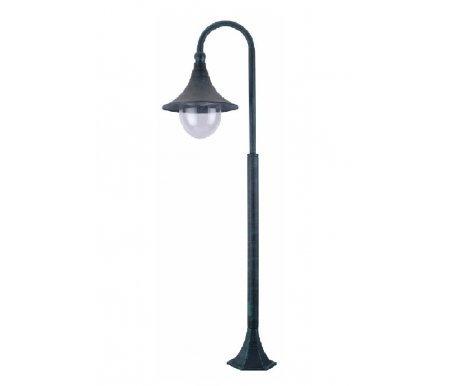 Наземный высокий светильник Malaga A1086PA-1BGФонарные столбы<br><br>