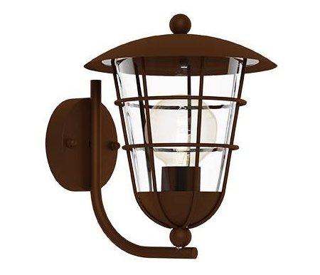 Уличный настенный светильник Eglo Pulfero 1 94854Настенные светильники<br><br>