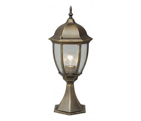 Наземный низкий светильник Фабур 804040301Наземные столбики<br>стиль Тиффани<br>